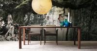 Sintesi, Ausziehbarer Tisch aus Holz für Esszimmer