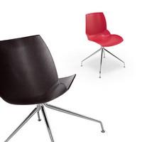 Kaleidos 6, Moderne Stahlstuhl mit bestimmten Körper-Finish