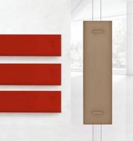 Mitesco 1, Akustikplatten mit Polyesterfüllung mehrfarbig