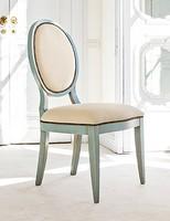 AURIGA Art. 1195, Gepolsterter Stuhl aus Holz, Vintage-Stil, für Restaurant