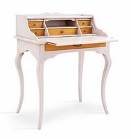 MERCURIO Art. 4267, Klassische Holztisch, mit Klappe doop, für das Büro