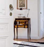 DELFINO Art. 4268, Lackierter Schreibtisch, klassischen Stil, für Studio und zu Hause