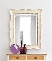 MARTE Art. 4956, Dekorative Spiegel mit lackiertem Holzrahmen, klassisch