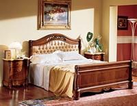 Althea Bett, Luxury klassische Bett mit gepolstertem Kopfteil, um Hotels