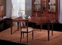 Opera ausziehbaren Tisch, Ausziehbarer Esstisch, klassischen Stil