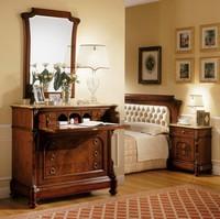 D'Este Spiegel, Spiegel im klassischen Stil, handgefertigte Schnitzereien