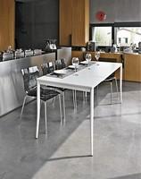 BONTON, Ausziehbarer Tisch, Metallsockel, billig, für Hotels
