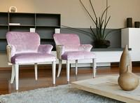 Myna, Reichen Holz Sessel, für Luxus-Hotels