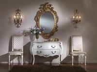 714 KOMMODE, Luxus klassischen Kommode, mit Bronzeschmuck