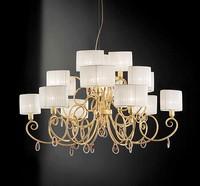 Elena ceiling lamp, Deckenleuchte mit Kristall Anhänger