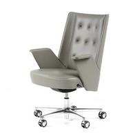 Embrace Bürostuhl, Chefsessel mit Rädern, innere Struktur in mehrschichtigen