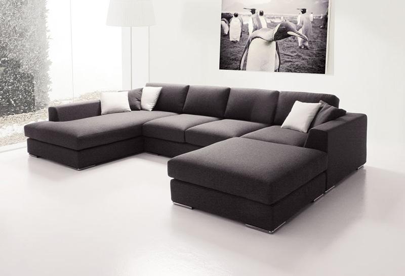 Modulares Sofa sofa mit halbinsel modular und für das leben idfdesign