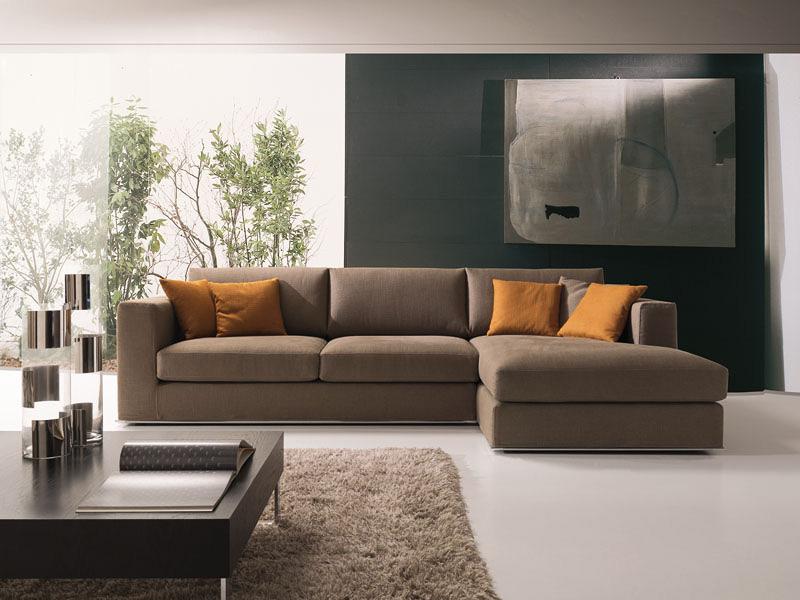 Modernes ecksofa  Modernes Ecksofa, in Stoff oder Leder, für das Sitzen | IDFdesign