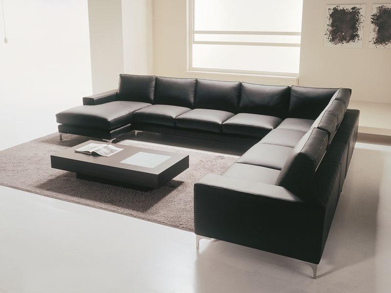 Maßgeschneiderte Sofa, linear, modernes, leichtes Design  -> Quadratisches Sofa