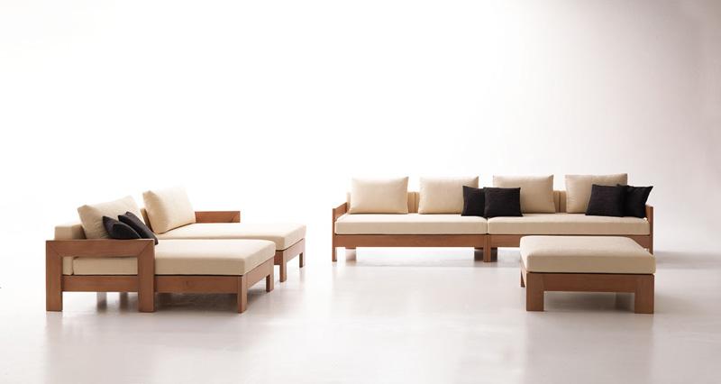 modulares sofa minimalistisch modern stil f r taverne idfdesign. Black Bedroom Furniture Sets. Home Design Ideas