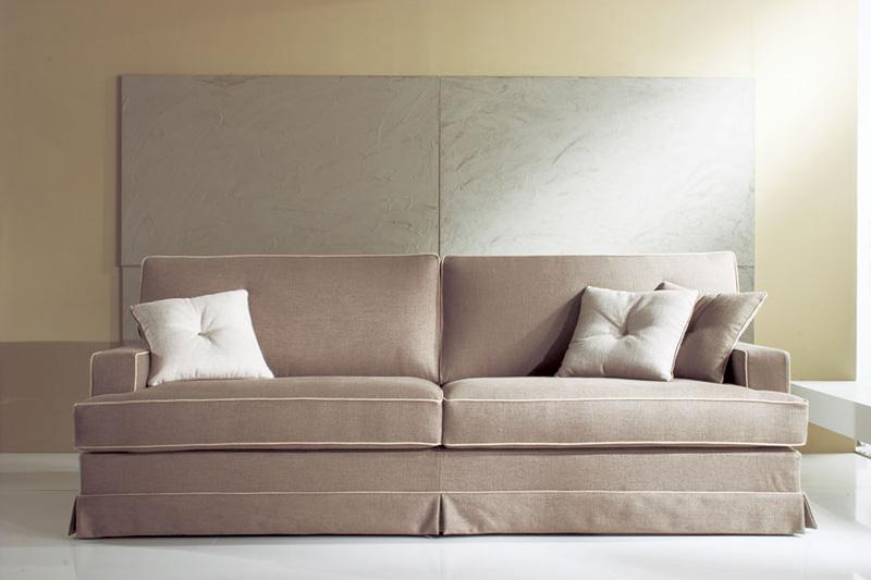 Louvre, Waschbar Sofa, Holzrahmen, gepolsterter Schaum