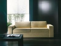 Prometeo, Ultra-moderne Sofa-Bett, umwandelbar in Bett, abnehmbare Abdeckung