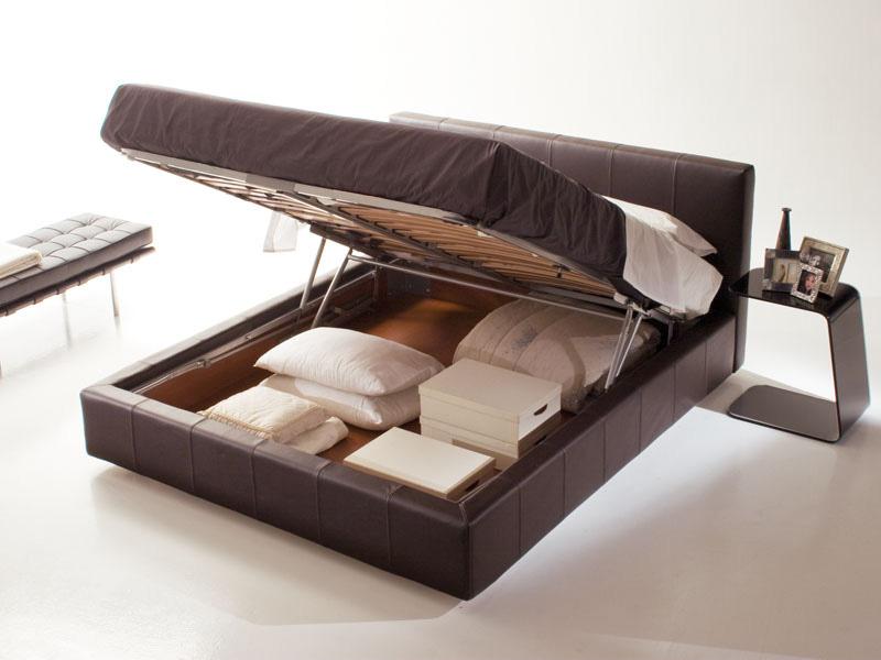 Bett mit Staukasten, abnehmbarem Stoff, modernes Hotel | IDFdesign
