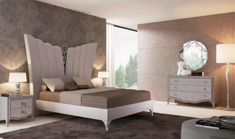Betten In Leder, Polsterbett, Luxus Bett Zeitgenössische Schlafzimmer  IDFdesign