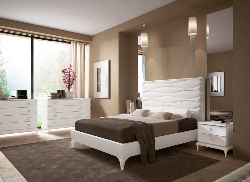 saint tropez skin wave bett cod 4030 bett mit leder bezogen luxuri ses bett modernes. Black Bedroom Furniture Sets. Home Design Ideas