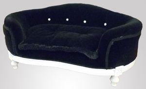 285 HUNDEBETT, Gepolsterte Hundeliege im klassischen Luxus-Stil