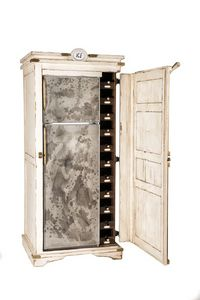 Art. 595/BV, Kühlschrank mit Innen Keller für Flaschen