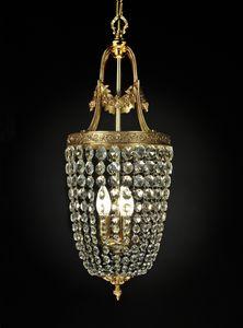 Art. 680 Cr, Kronleuchter mit Kristallketten