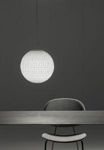 Ball, Kugellampe aus mundgeblasenem Glas