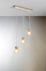 Can can Vs211-015, Hängeleuchte aus Keramik und Glas