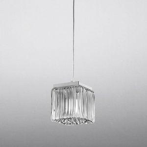 Cubetto Ls609-015, Pendelleuchte aus geblasenem Glas