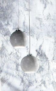 DECO LAMP, Hängeleuchte mit geschmückten Lampenschirm