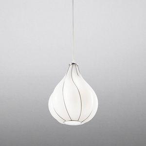 Goccia Rs409-030, Hängeleuchte aus weißem Glas