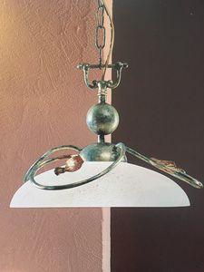 Hängelampe 2049/S, Pendelleuchte aus Eisen, Outlet-Preis