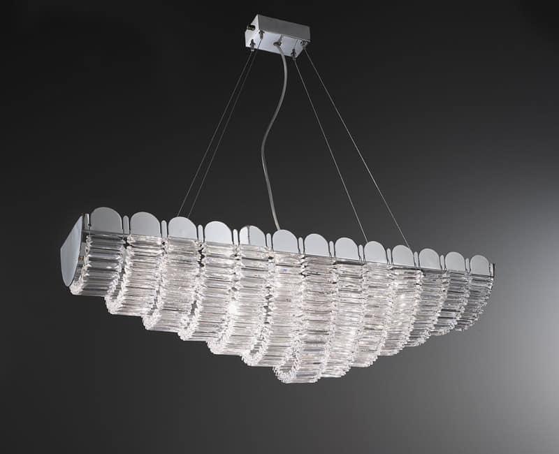 Kronleuchter Mit Lampenschirm ~ Eiserne kronleuchter lampenschirme in organza kristall anhänger