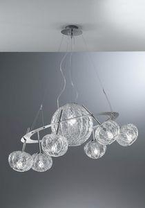 Sfera Rs408-015, Baloton Kristall Kronleuchter, mit einem originellen Design