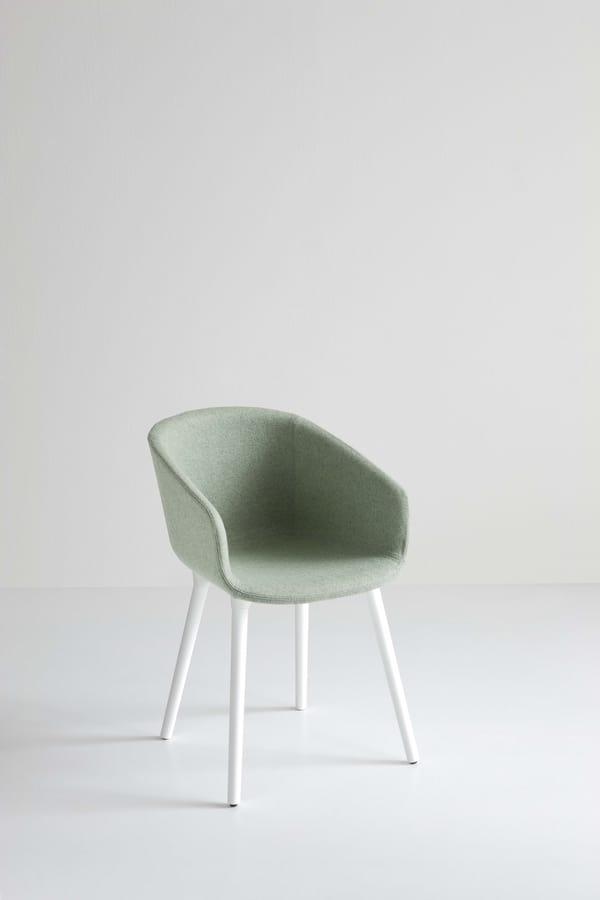 Basket Chair BP, Polymer Designer Stuhl für Bars und Restaurants