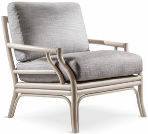 Bamboo Sessel, Bambusholzsessel, auch für den Außenbereich
