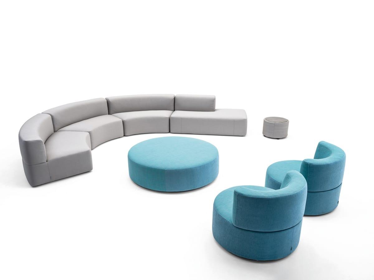 Belt Sessel, Gepolsterter Sessel für den Außenbereich