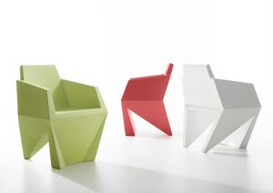 Gemma, Monolithischer Sessel, auch für den Außenbereich geeignet