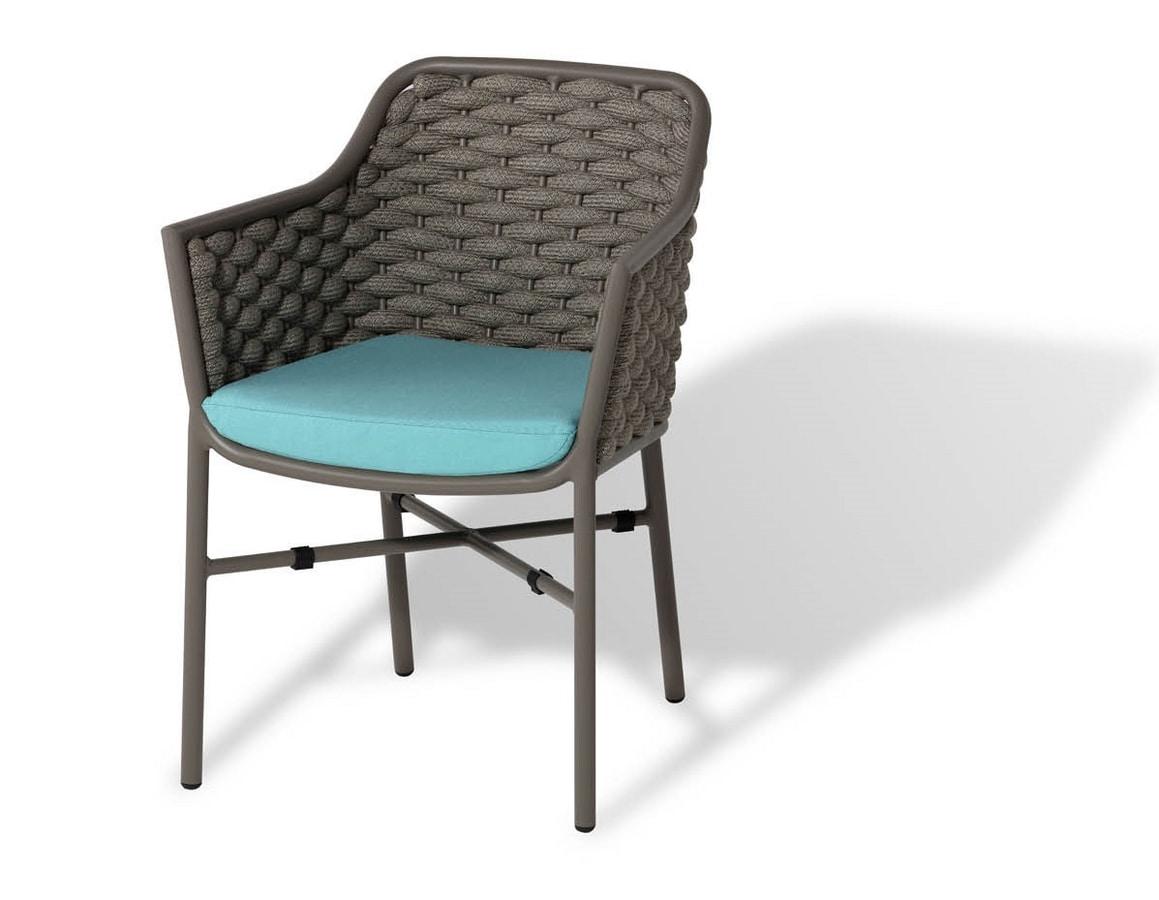 Love PL, Stapelbarer Sessel für den Außenbereich