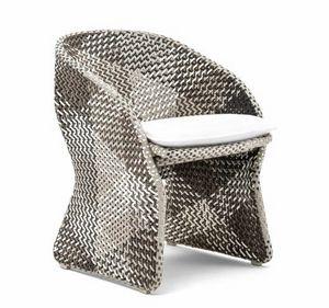 Maat Sessel, Geflochtener Sessel für den Außenbereich