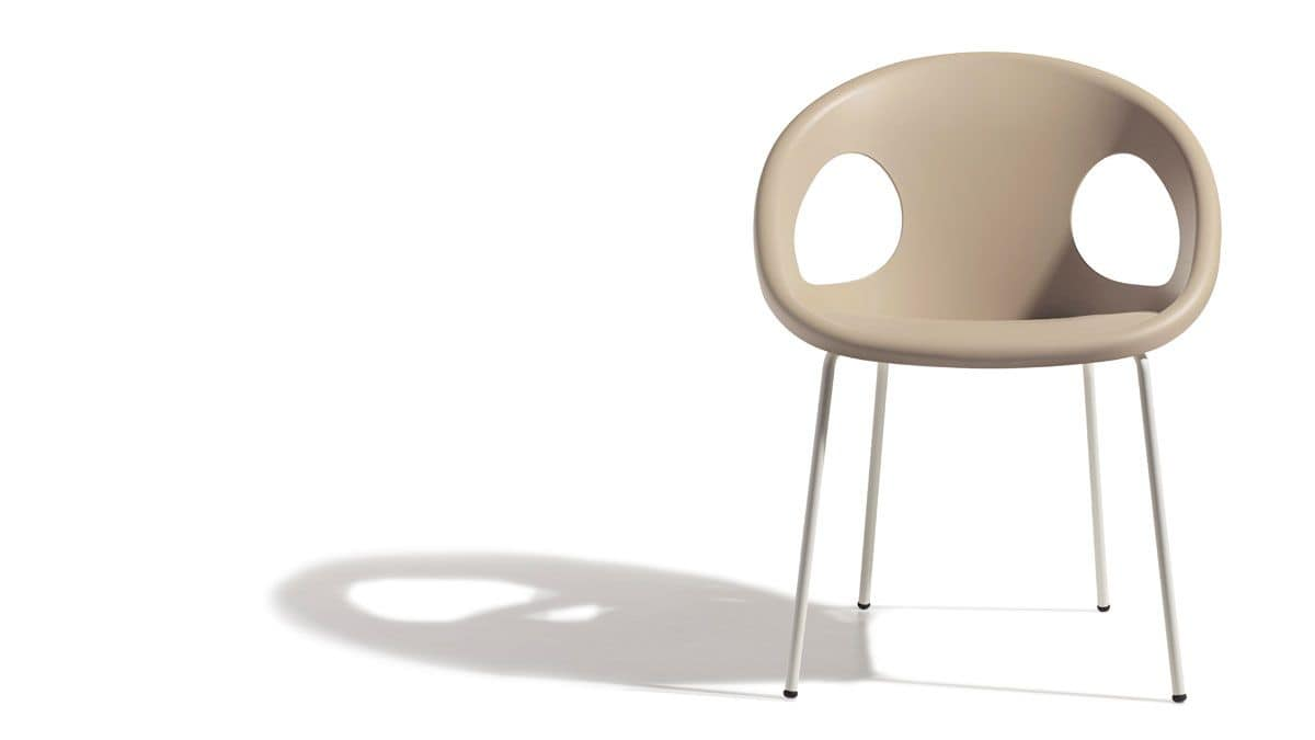 PL 2682.EST, Stapelstuhl, Sitz Kunststoff, für die Verwendung im Freien