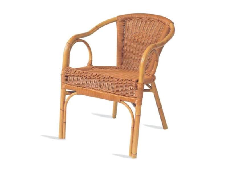 PL 403, Stuhl mit Armlehnen, Sitz und Rücken in Xiloplast