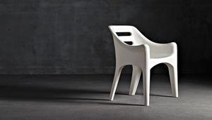 Russell, Design Stuhl auch für den Außenbereich