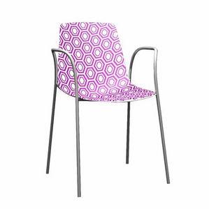 Alhambra TB, Wesentliche Stuhl Polymer und verchromtem Metall