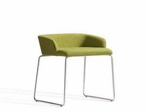 Concord 521AV, Sessel mit Kufengestell und niedriger Rückenlehne
