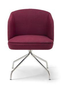 Noemi ARMS 3, Kleiner Sessel mit Metallgestell