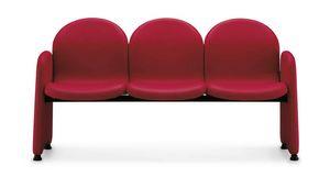 Ergo 5060, Sitzbank mit gepolsterter Schale