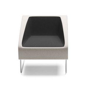 ITACA, Sessel mit Kufengestell für Warteräume