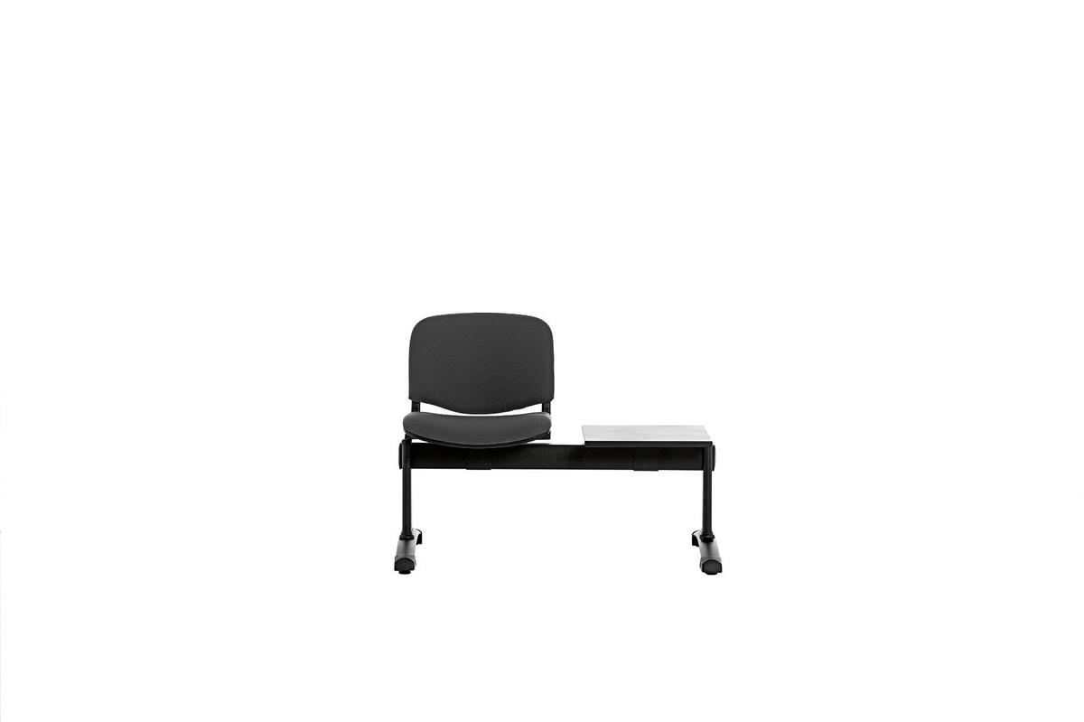 Leo Soft Bench, Komplett gepolsterte Tandem-Sitzeinheiten